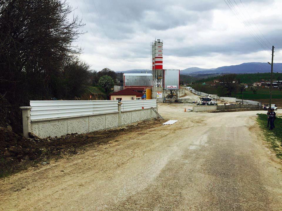 Özen Beton Vezirköprü Hazır Beton ve Kum Eleme Tesisi