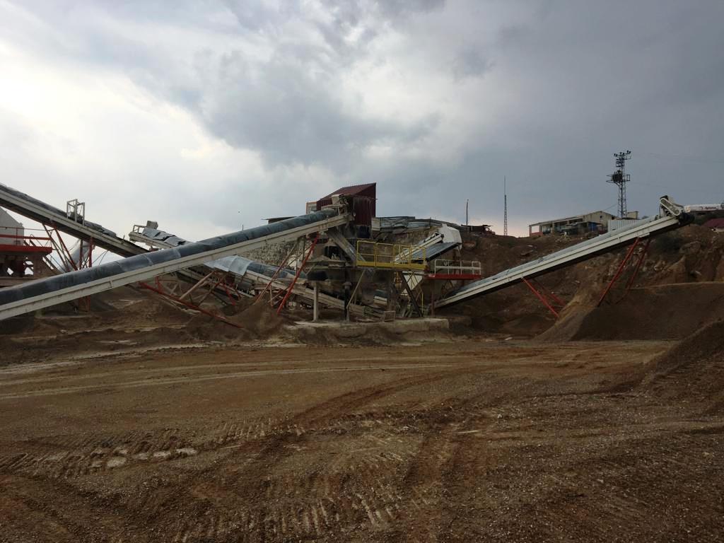 Özen Beton Vezirköprü Taş Kırma ve Agrega Üretim Tesisi