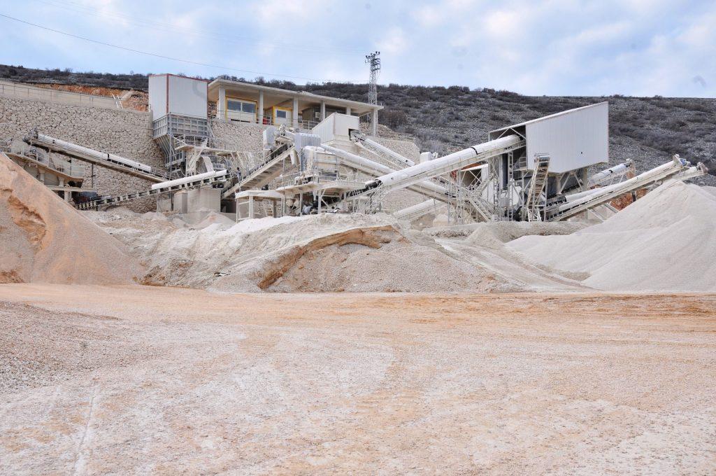 Özen Beton Yağmurköy Taş Kırma ve Agrega Üretim Tesisi